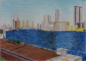 竹芝埠頭からの景色