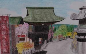金昌寺の山門